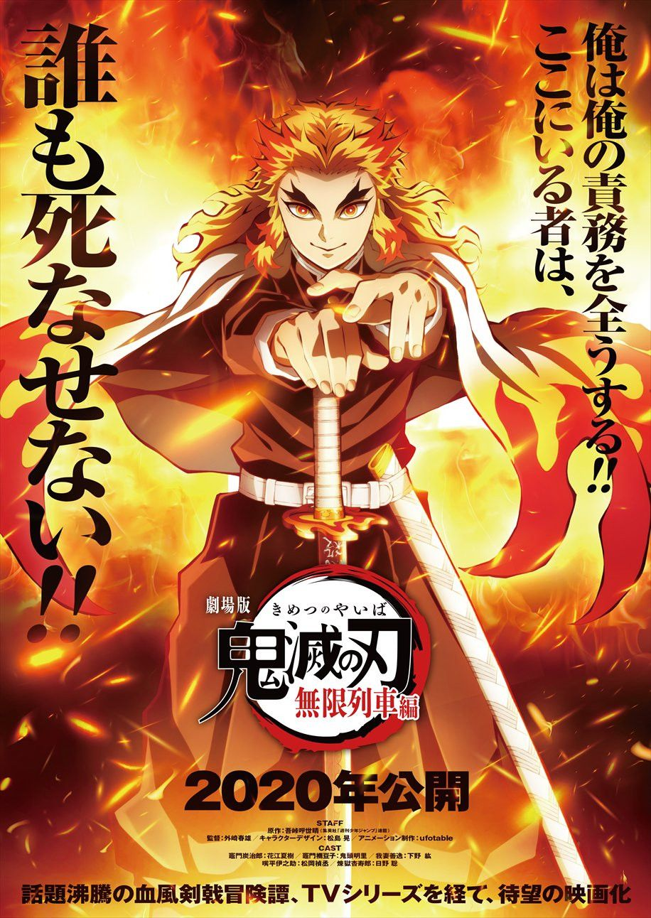 La Pelicula Kimetsu No Yaiba Mugen Ressha Hen Estrena Avance Publicitario Tips Anime Figuras De Anime Personajes De Anime Anime
