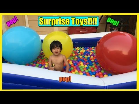 Thomas And Friends Giant Ball Pits Egg Surprise Toys Hot