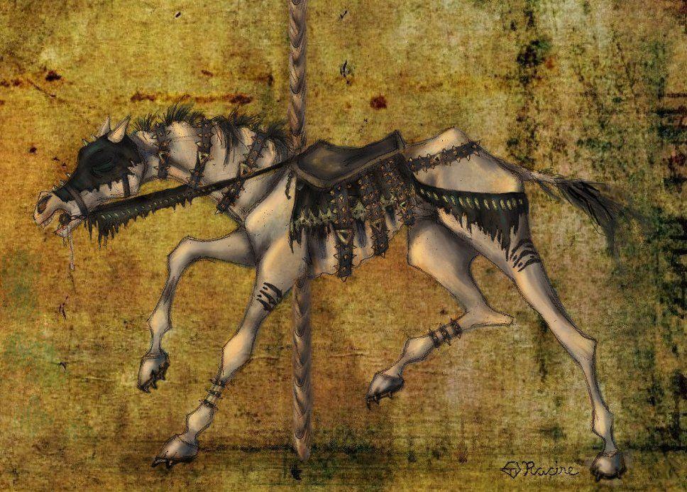 Apocalypse Carousel:  Famine by mcat711.deviantart.com on @DeviantArt