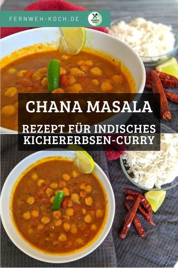 Chana Masala – Rezept für indisches Chole