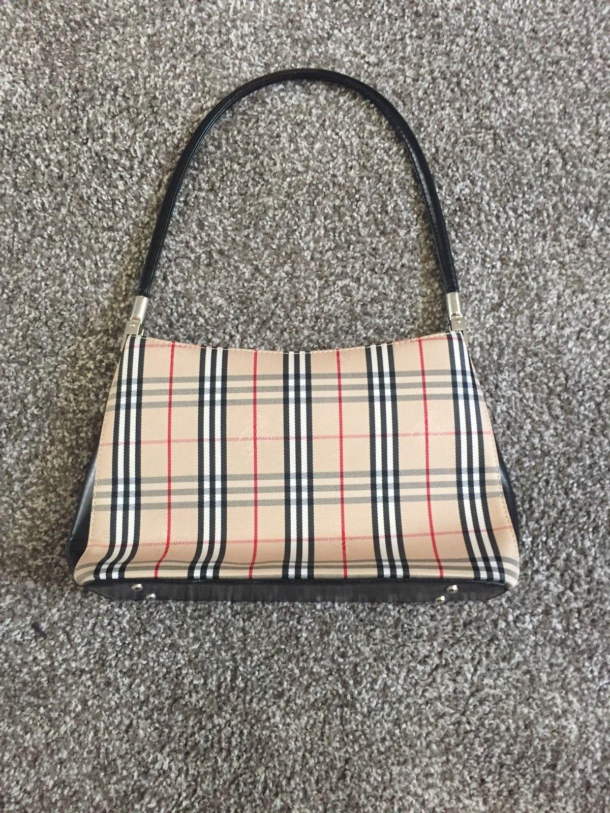 Burberry Handbag Small Gently Used 20 0