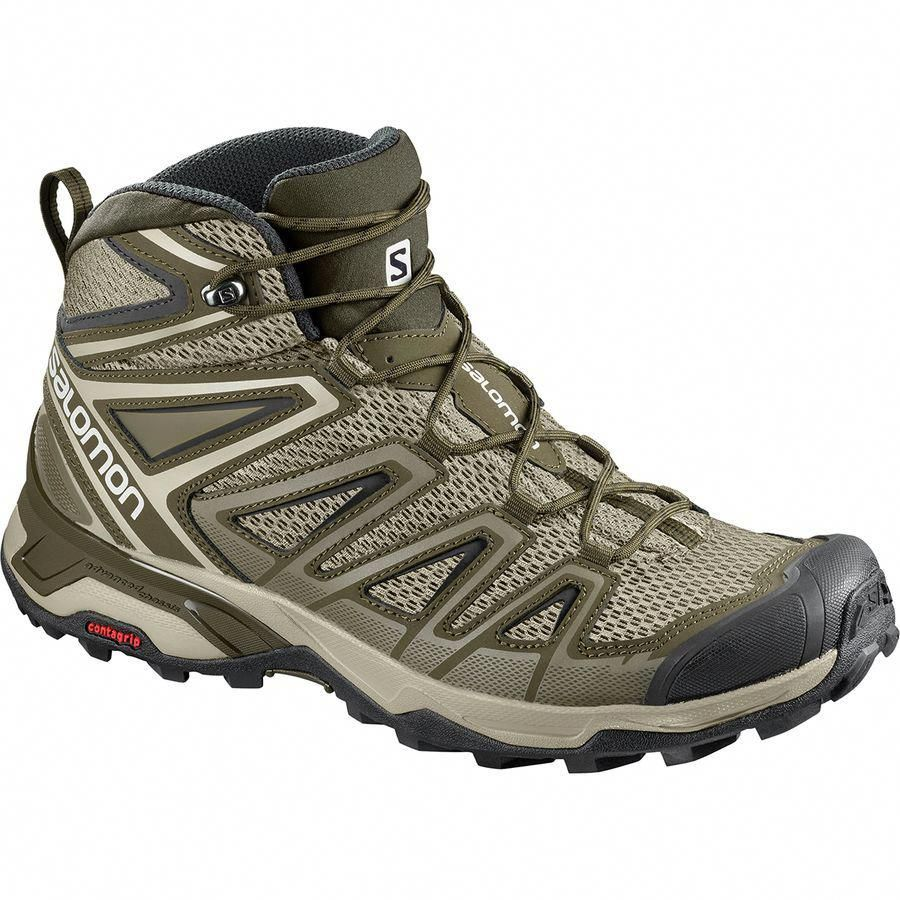 9de4d62eb95c Salomon - X Ultra Mid 3 Aero Hiking Boot - Men s - Vintage Kaki Wren ...