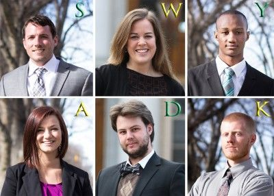 Colorado State University's ASCSU candidates. (Photo illustration by Rick Cookson)