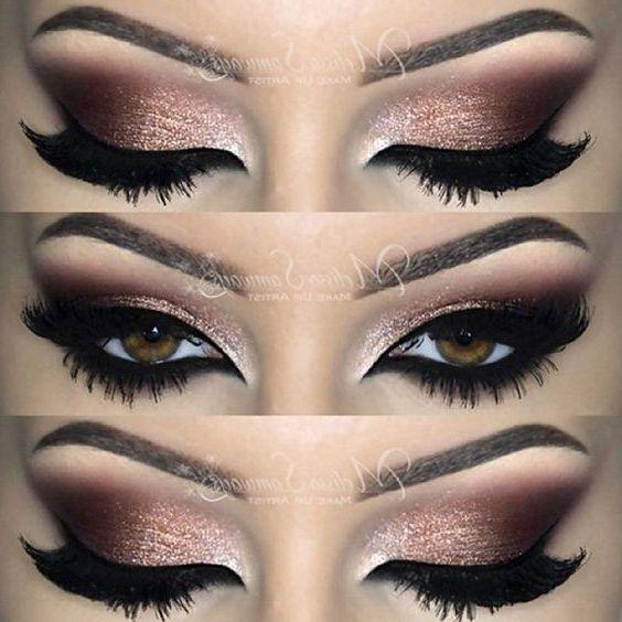 Photo of 52 besten wunderschönen und trendigen braunen Augen Make-up-Design für Prom od…