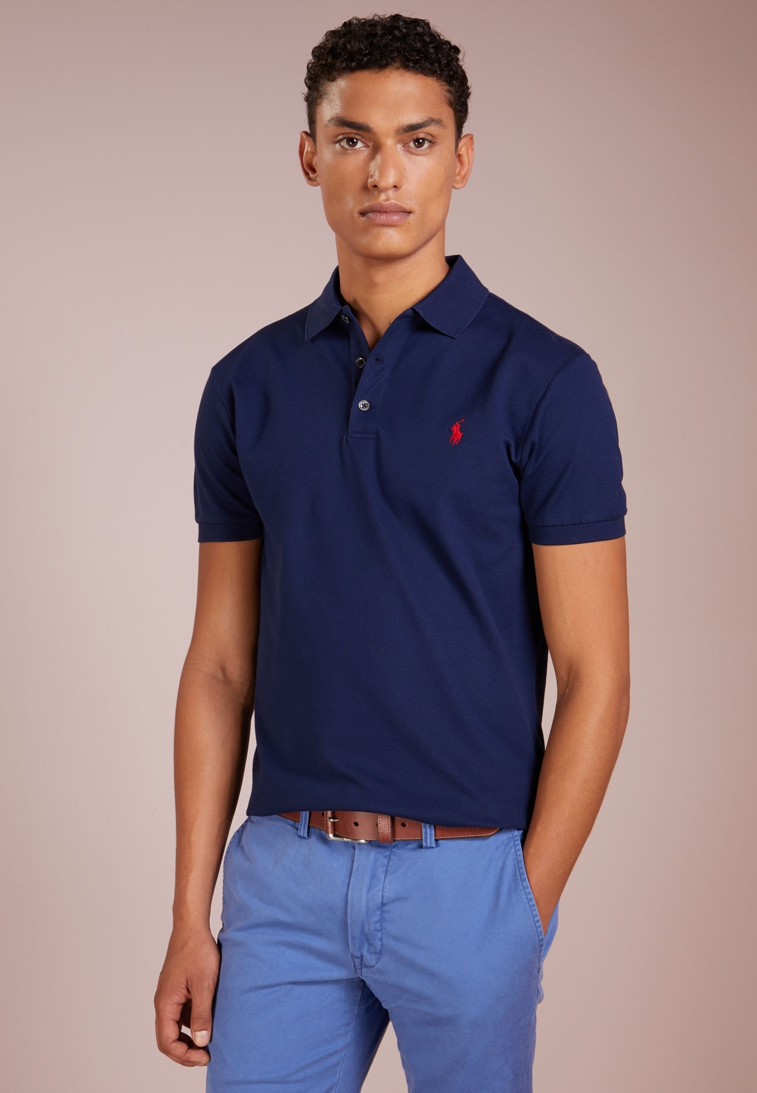 Polo Ralph Lauren Koszulka Polo French Navy Zalando Pl Polo Ralph Lauren Ralph Lauren Slim Fit Slim Fit