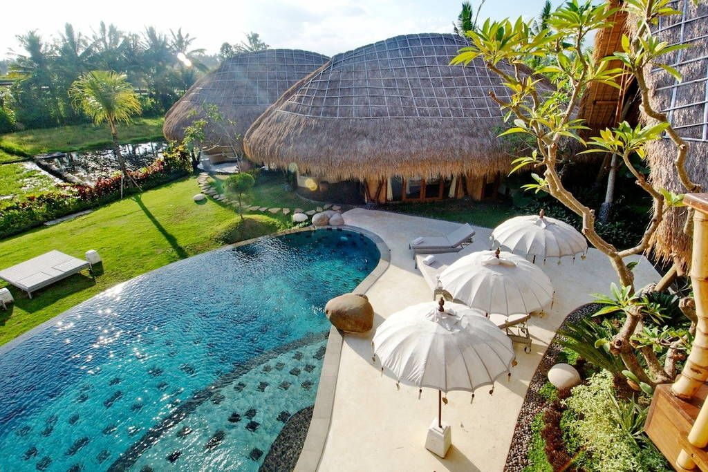Villa Omah Padi 5 Bedrooms In Ubud Bali Holiday Villa Bali Ubud Ubud Ubud Villas Bali Indonesia