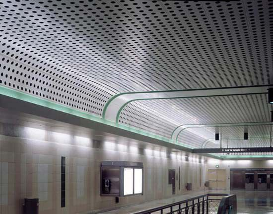 Image Result For Perforated Metal Ceiling Work