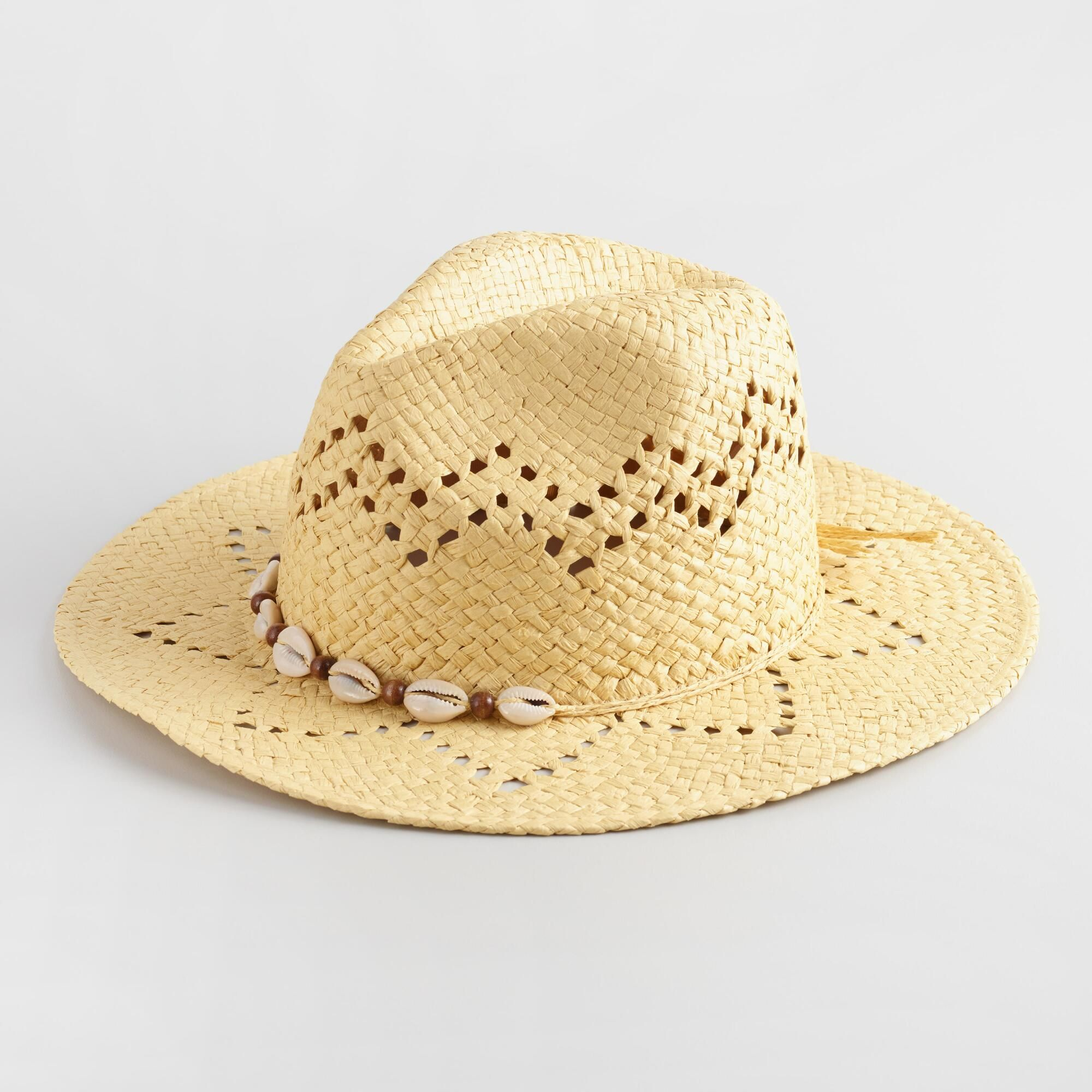 5dd0a1f45 Puka Shell Rancher Hat by World Market | Products | Hats, Cowboy ...