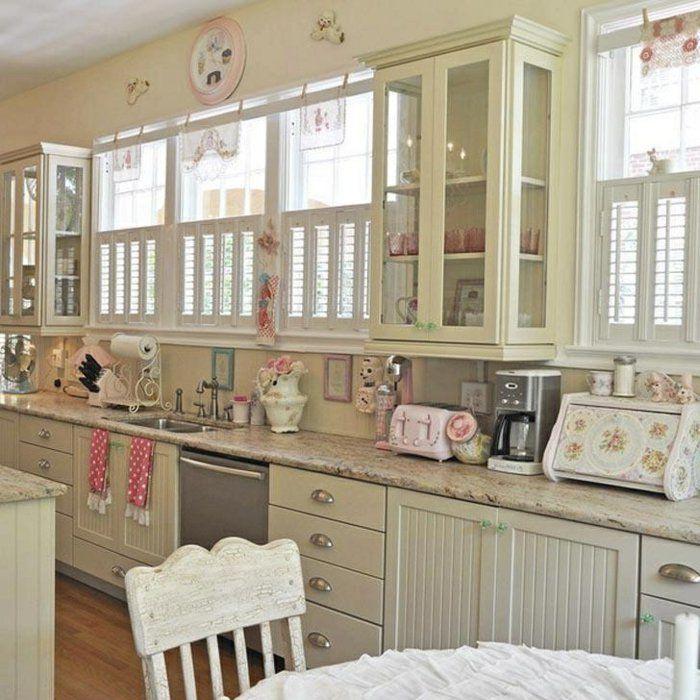 Shabby Küchen 44 tolle designs shabby chic küche shabby chic küche shabby