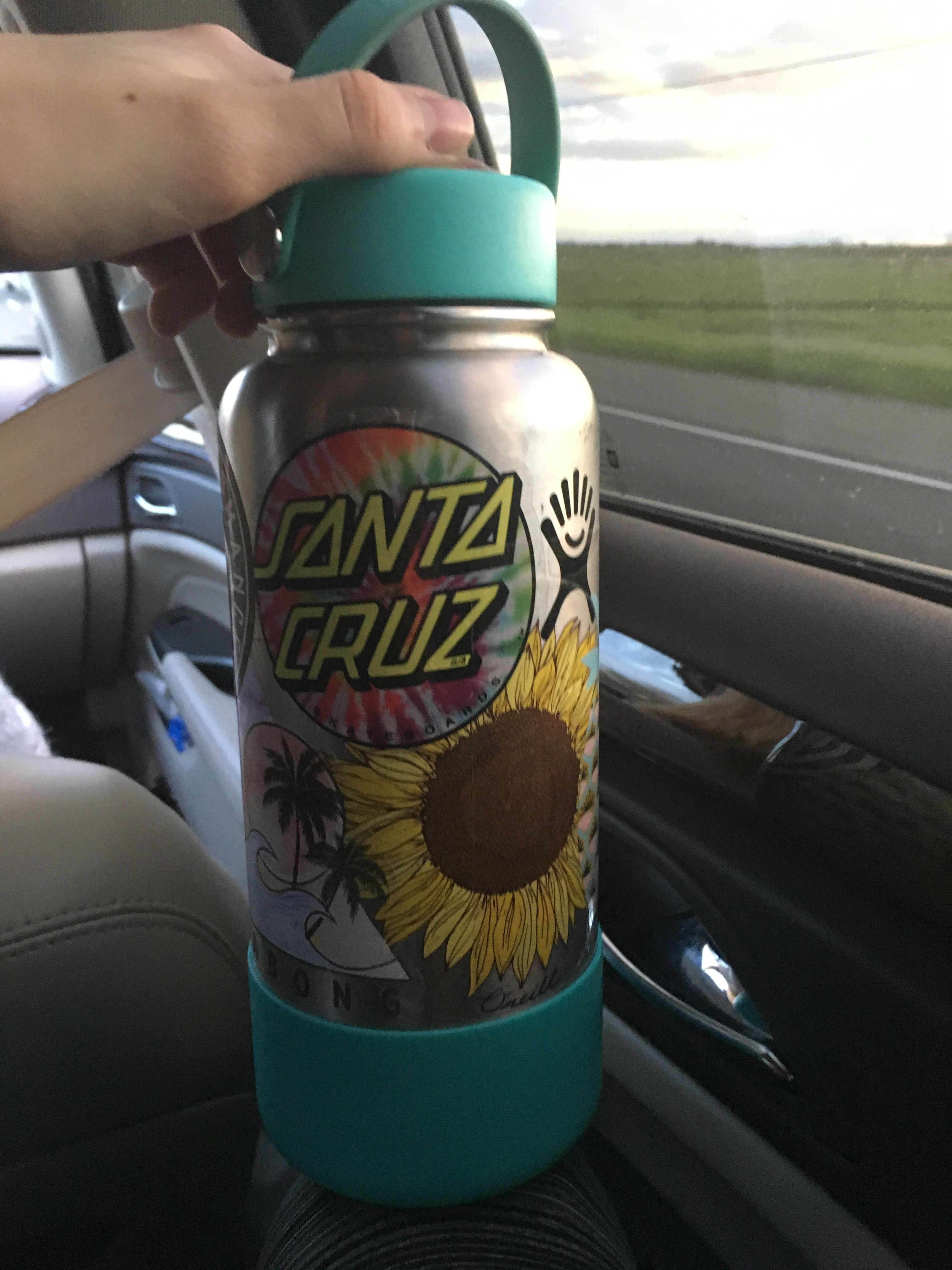 Finally put some stickers on my hydroflask
