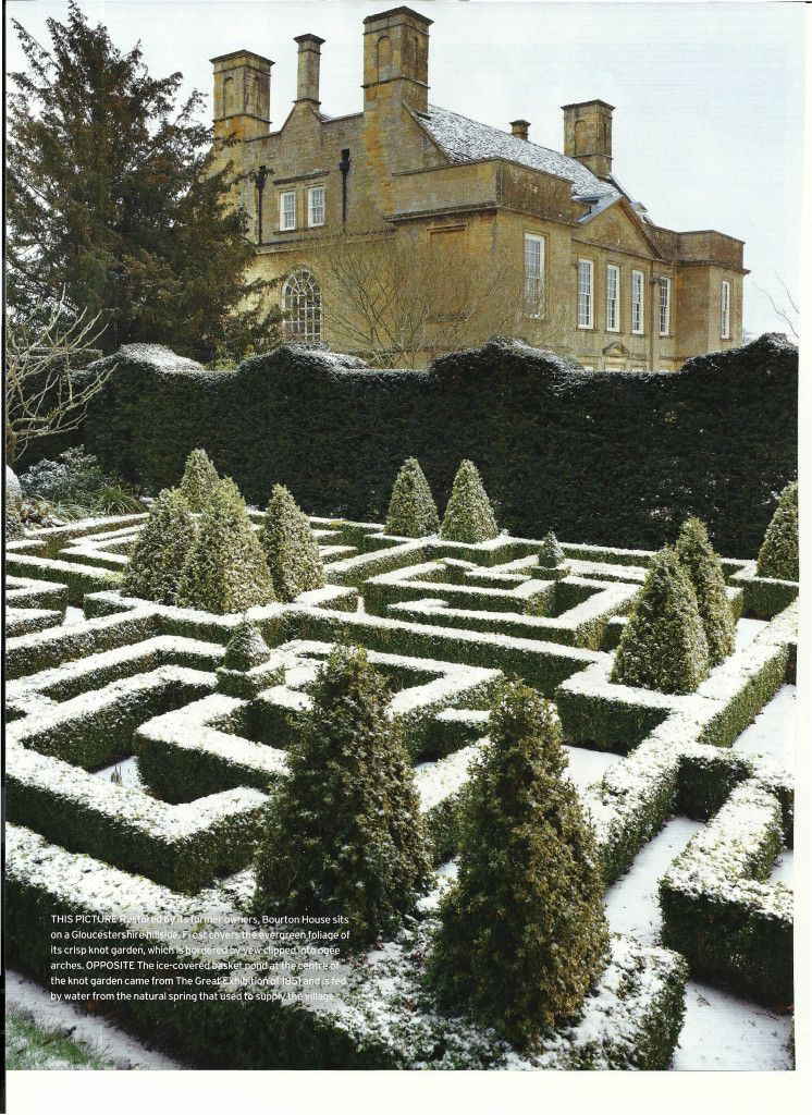 Bourton House Gloucestershire, England this could be Cliffmere, in the novel, The Explorer's Code - Kitty Pilgrim