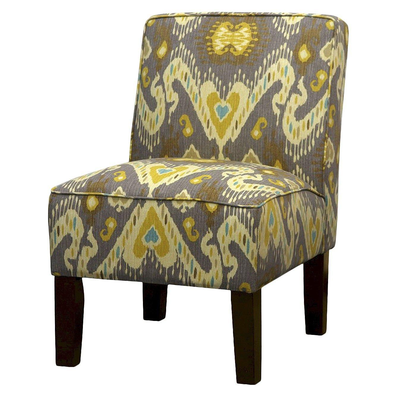 Burke Slipper Chair - Print : Target | Grey chair, Chair ...