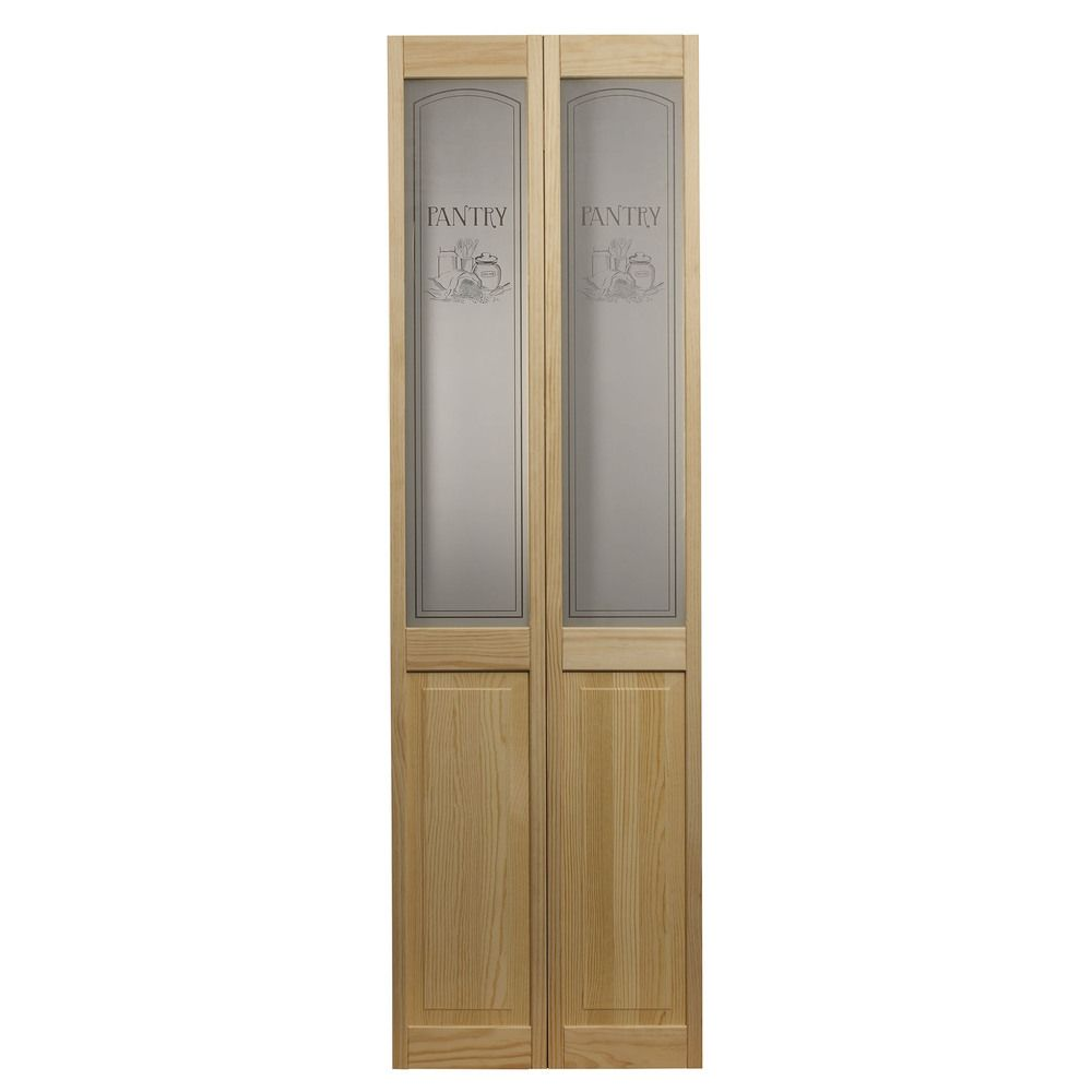 Awc 647 Pantry Gl 30 Inch X 80 5 Unfinished Bifold Door