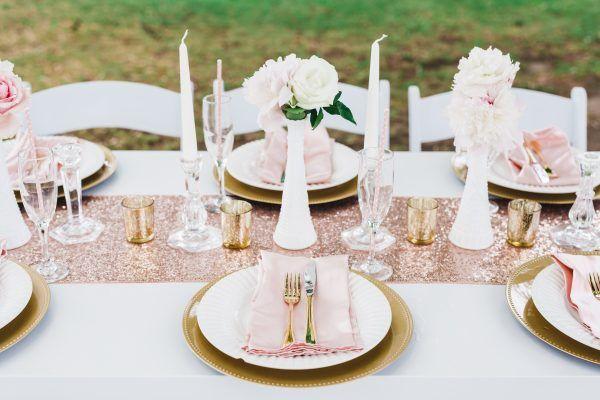 Pink Gold Bridal Shower Brunch Inspiration Bridal Shower