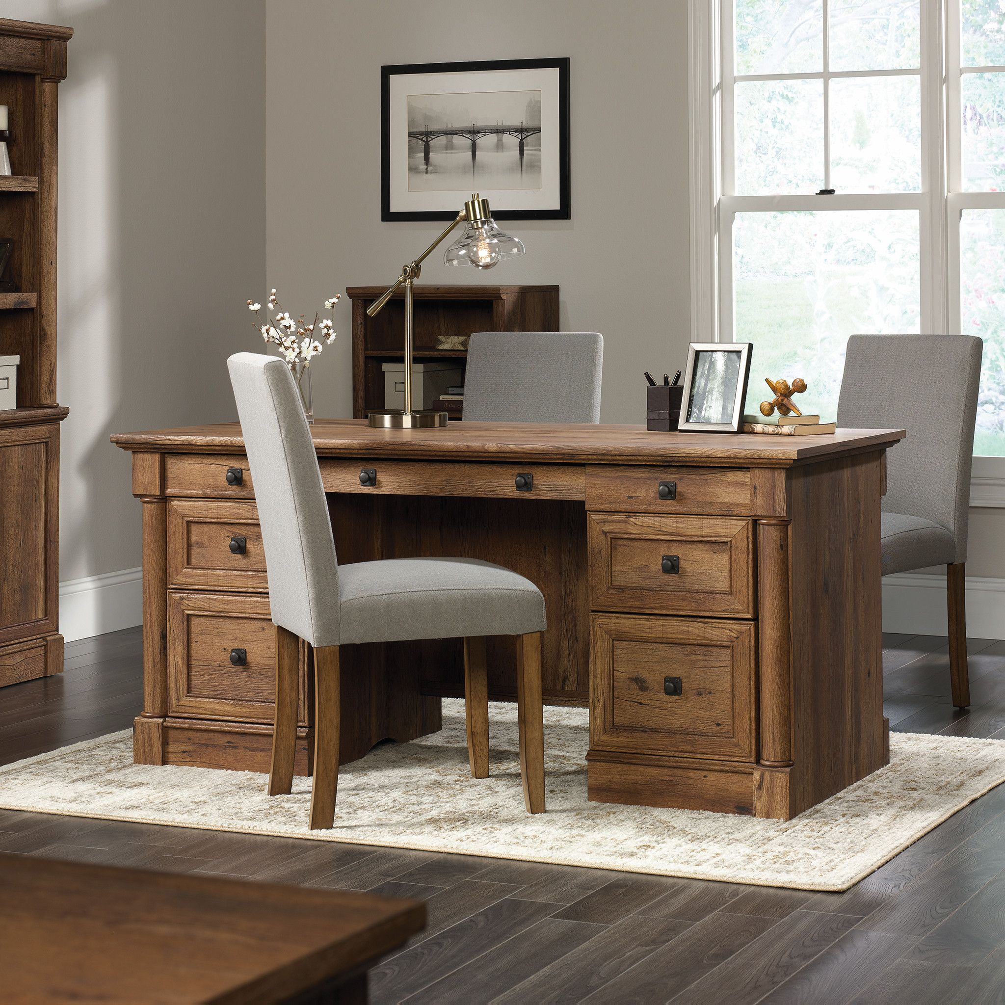 Darby home co sagers executive desk