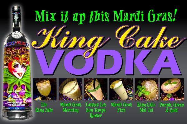 recipes for king cake vodka Julie Karins Melancon here we go
