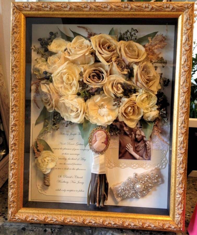Wedding Flowers Shadowbox Diy Flower Shadow Box Diy Wedding