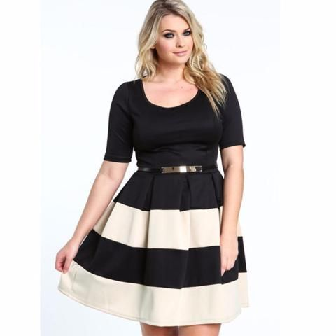 Cute Casual Plus Size Party Dress | Womens Cool Summer Fashion ...