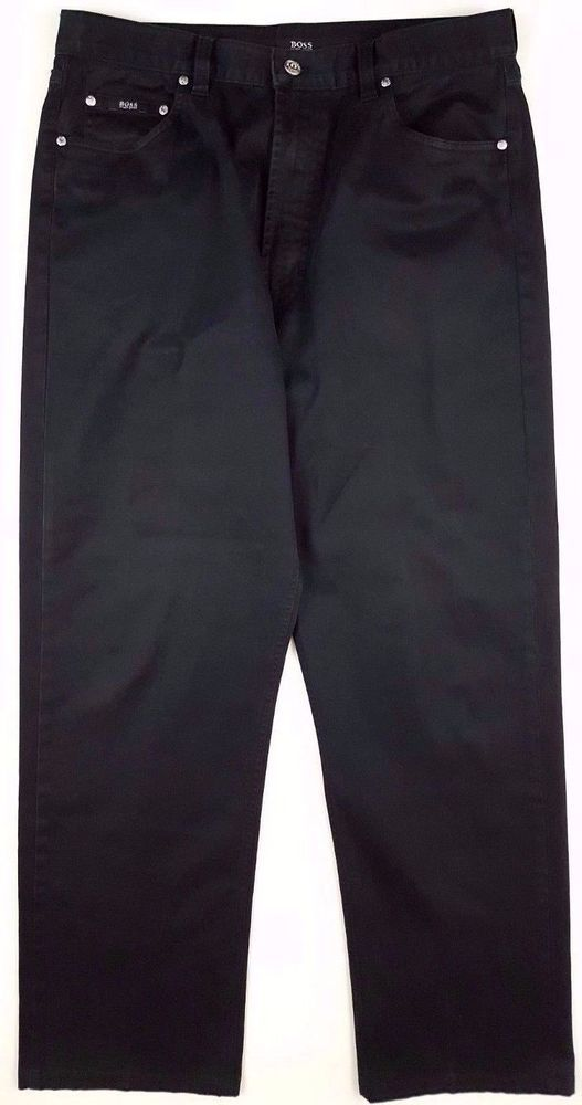 defd41b68 HUGO Boss BLACK Alabama PANTS Chinos MENS Size COTTON Blend SELECT Line SZ  34 31 #HUGOBOSS #KhakisChinos