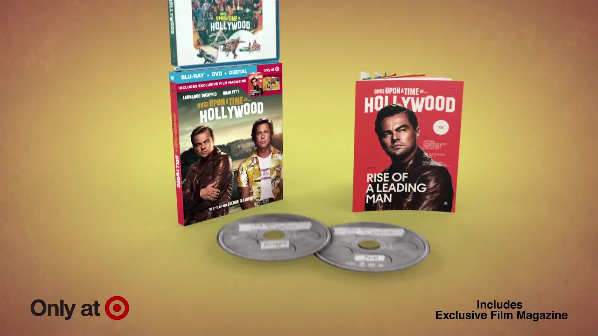 Pre-order Once Upon A Time...In Hollywood on Blu-ray with exclusive film magazine. Visit Hollywood's Golden Age this holiday. #hollywoodgoldenage