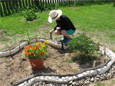 Садовые дорожки своими руками из битой плитки своими руками фото фото 960