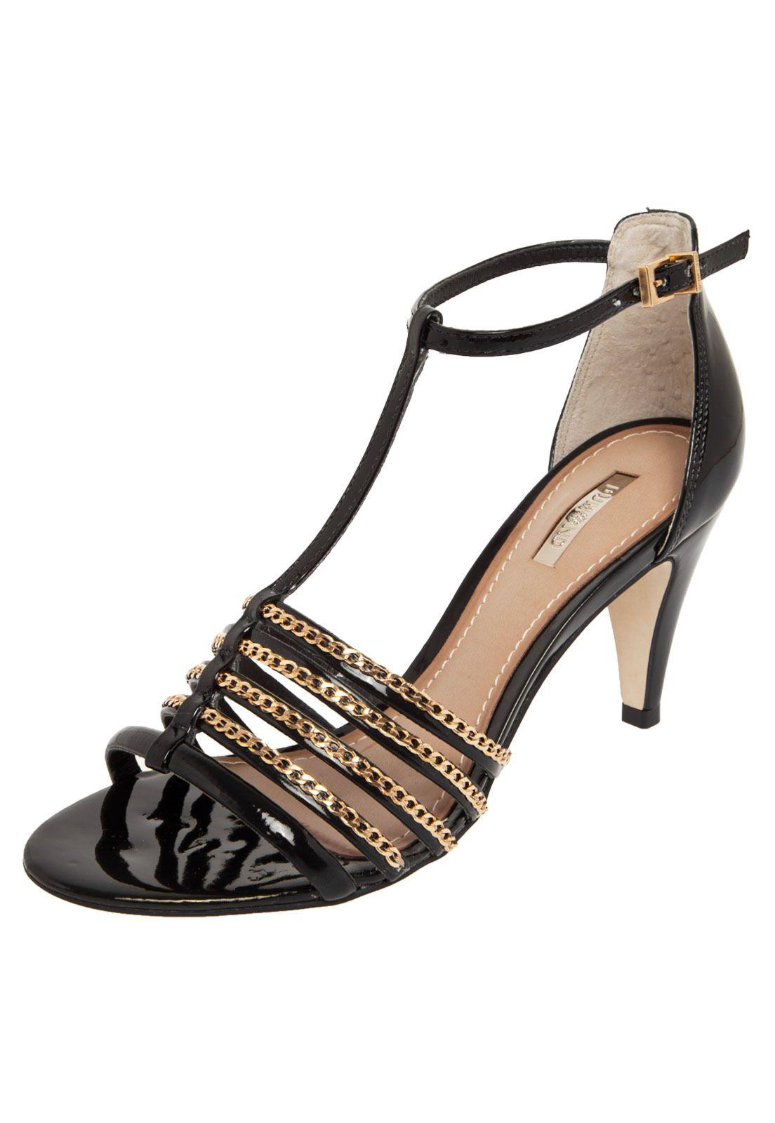 50564fdf7 Sandália Dumond Preta | dumond | Shoes, Sandals e Fashion