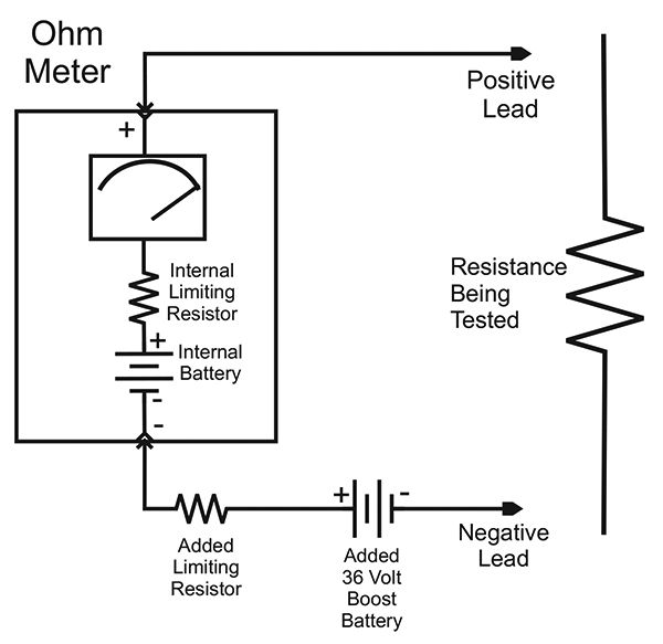 Finding Resistance In Circuit Ohmmeter : Build a low voltage insulation tester nuts volts