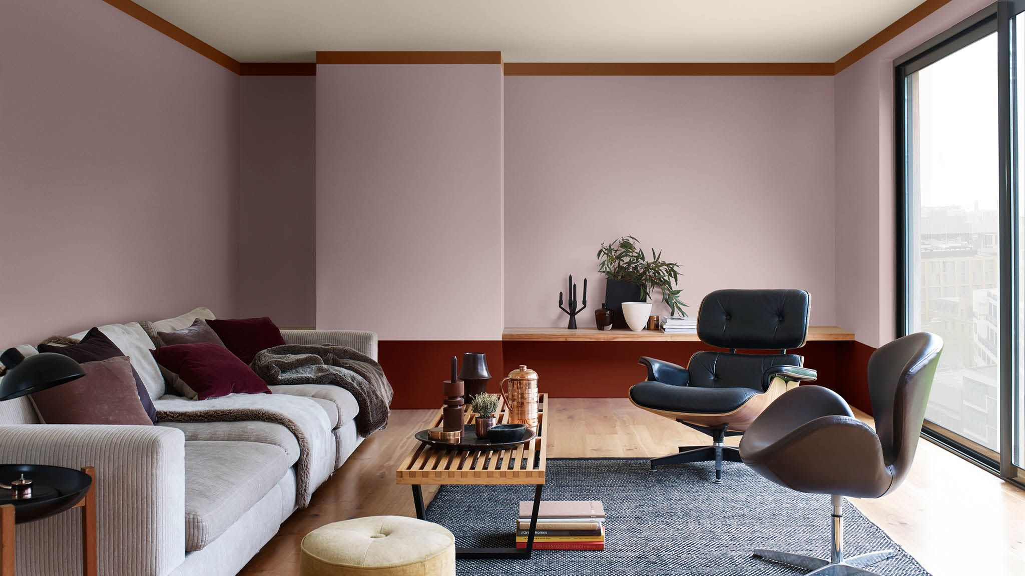 Knusse woonkamer in aardetinten | 2018 Color Trends - Heart Wood ...