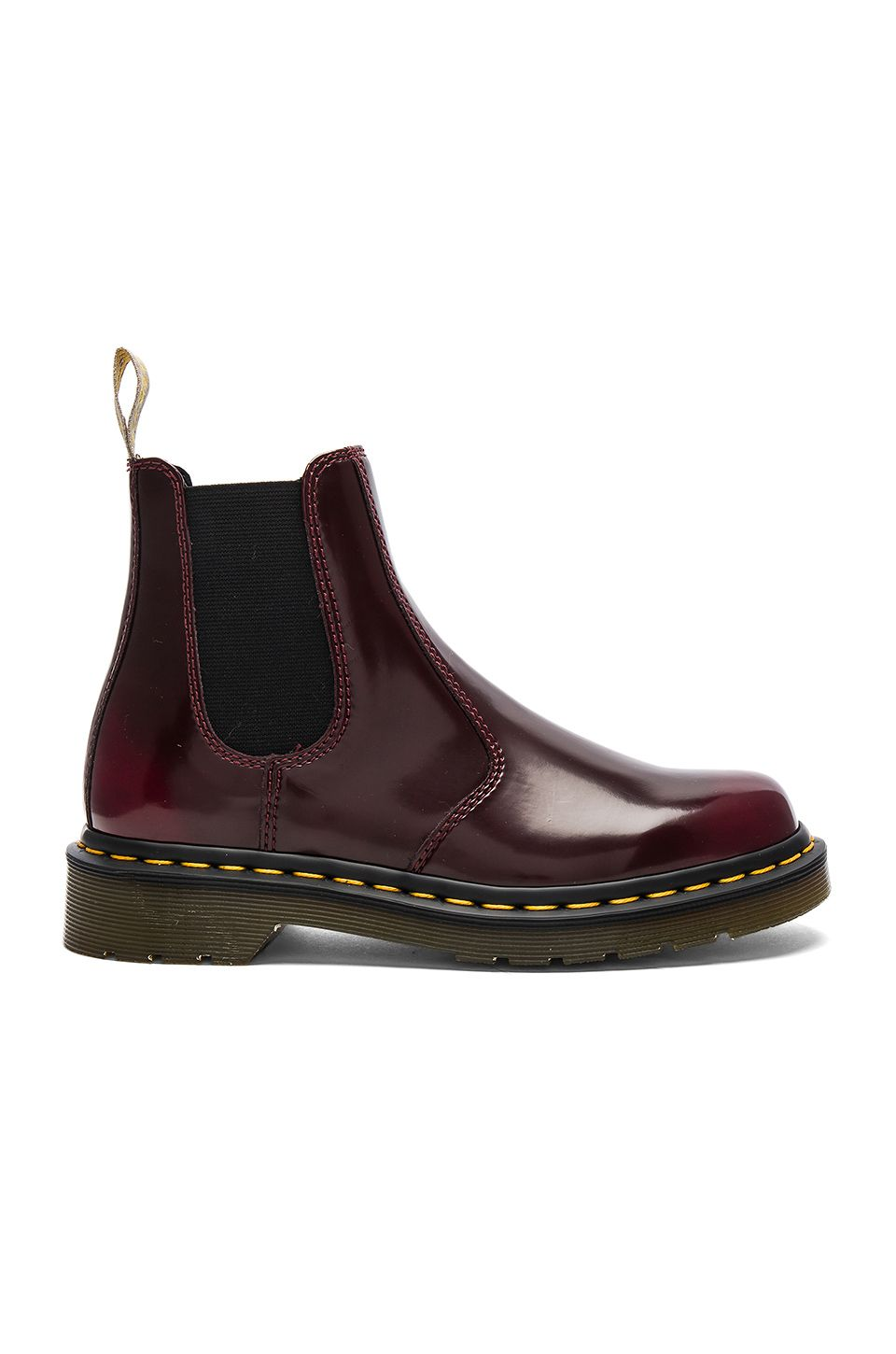 dr martens chelsea boot in cherry red revolve shoes. Black Bedroom Furniture Sets. Home Design Ideas