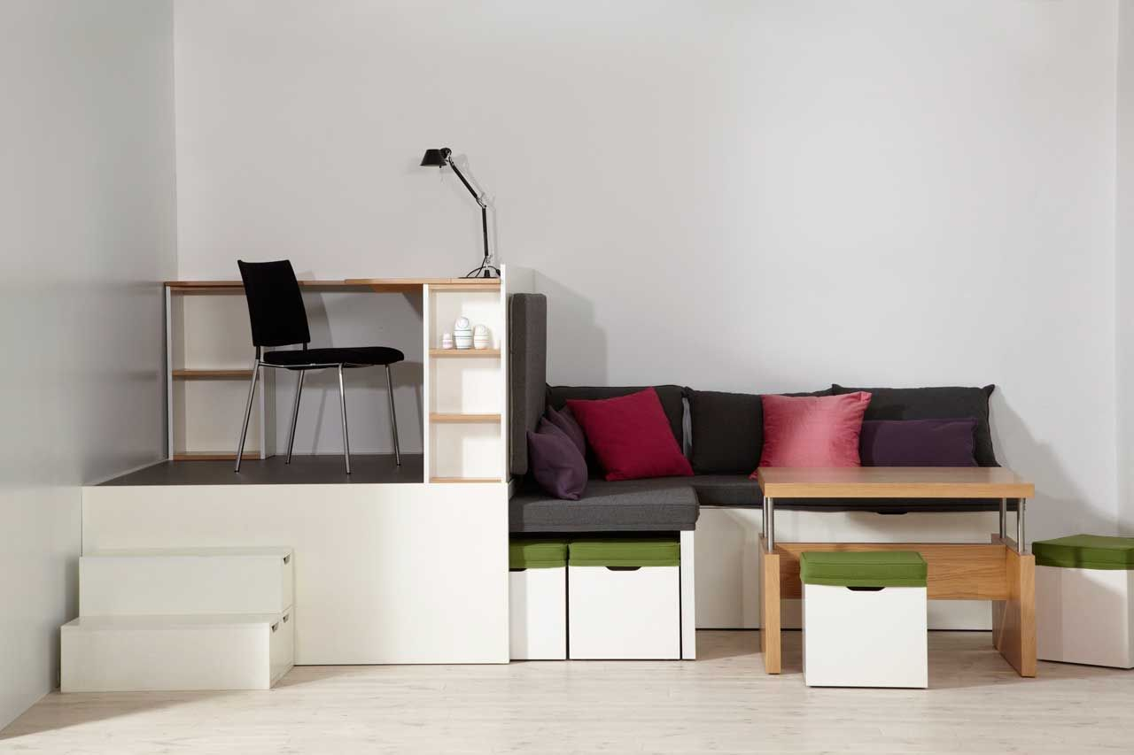 Simple And Functional Nice Space Saving Furniture Bedroom Decorating Small Spaces Apartments Furniture For Small Spaces