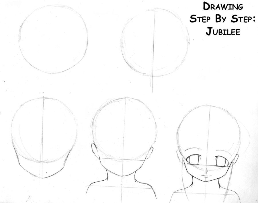 anime+step+by+step+drawing+head | Drawing Anime Steps Page ...