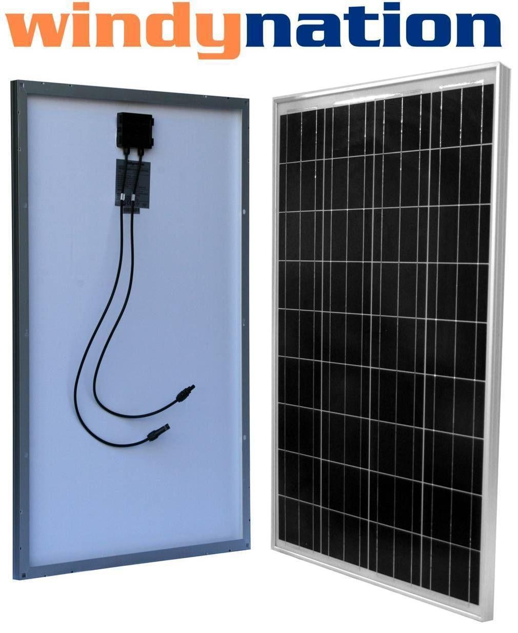 100 Watt 100w 12v 12 Volt Solar Panel Battery Best Solar Panels Solar Energy Panels Solar Panels