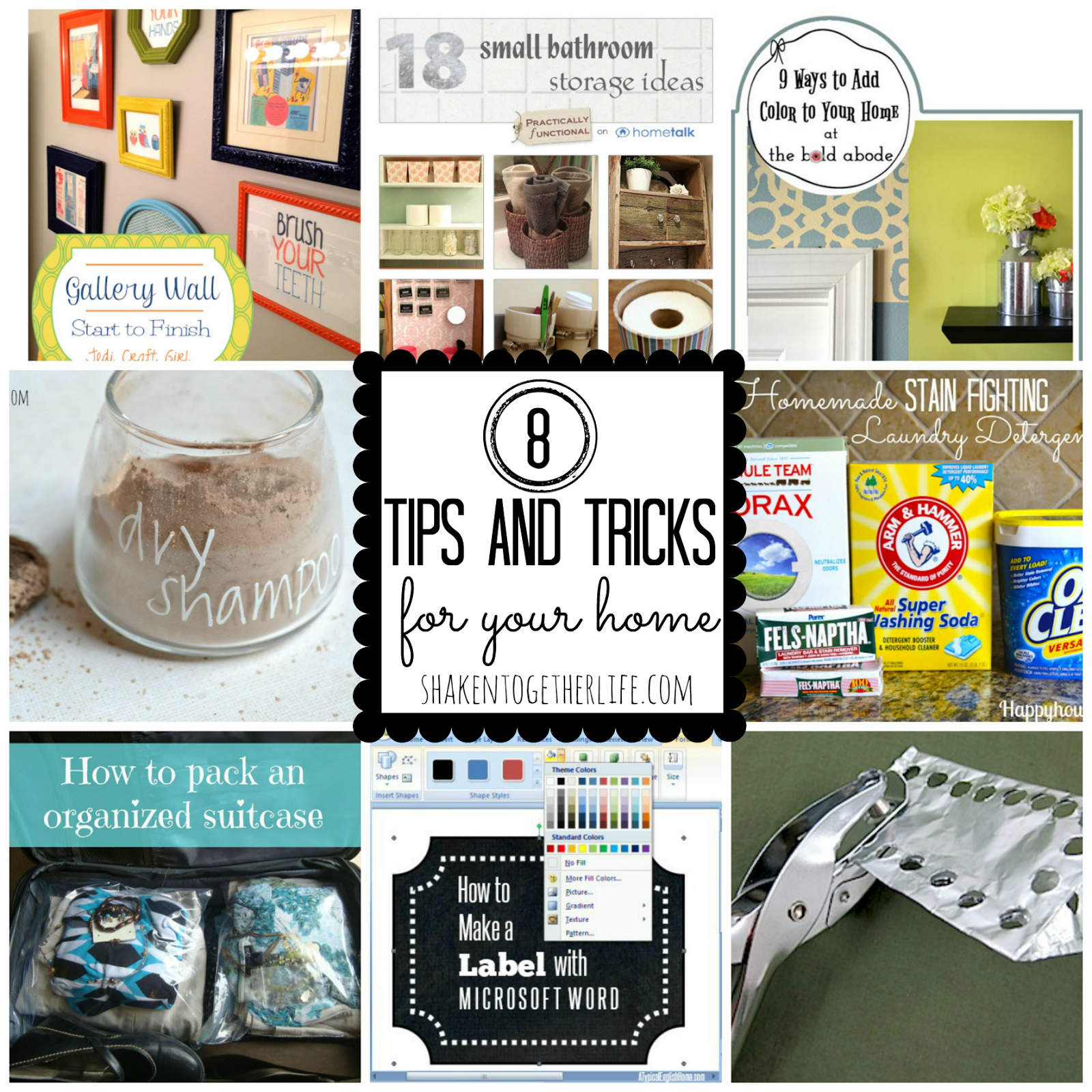 Great Shaken Together: 8 Tips U0026 Tricks For Your Home ~ Clever Features From The {