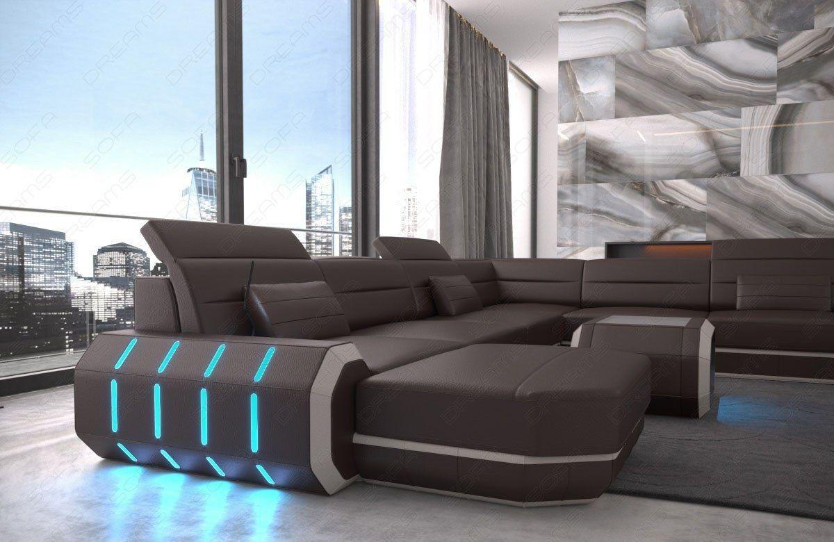 Xxl Wohnlandschaft Roma Leder Ecksofa Design Sofa Set Designs Möbel Sofa