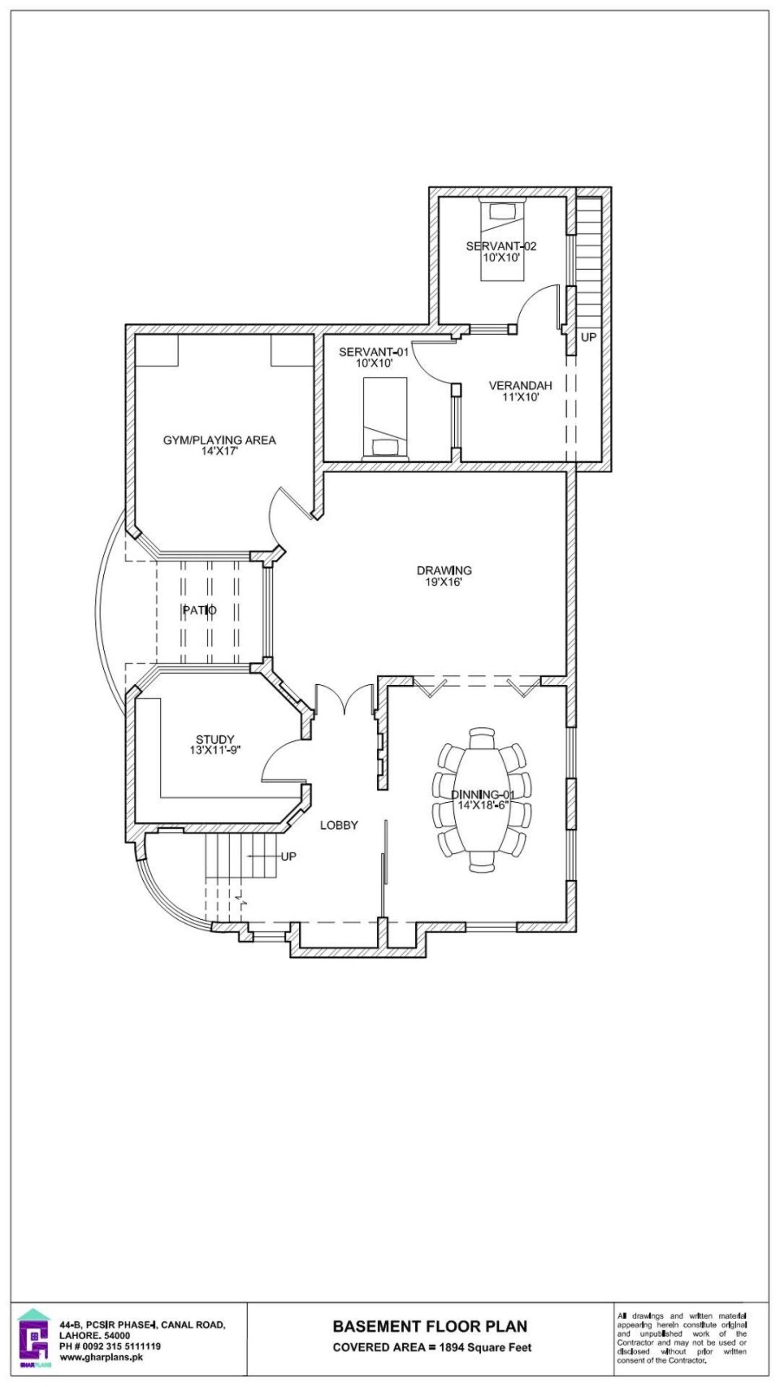 50 X 90 House Basement Floor Plan 500 Sq Yard Basement Floor Plans Floor Plan Layout House Plans