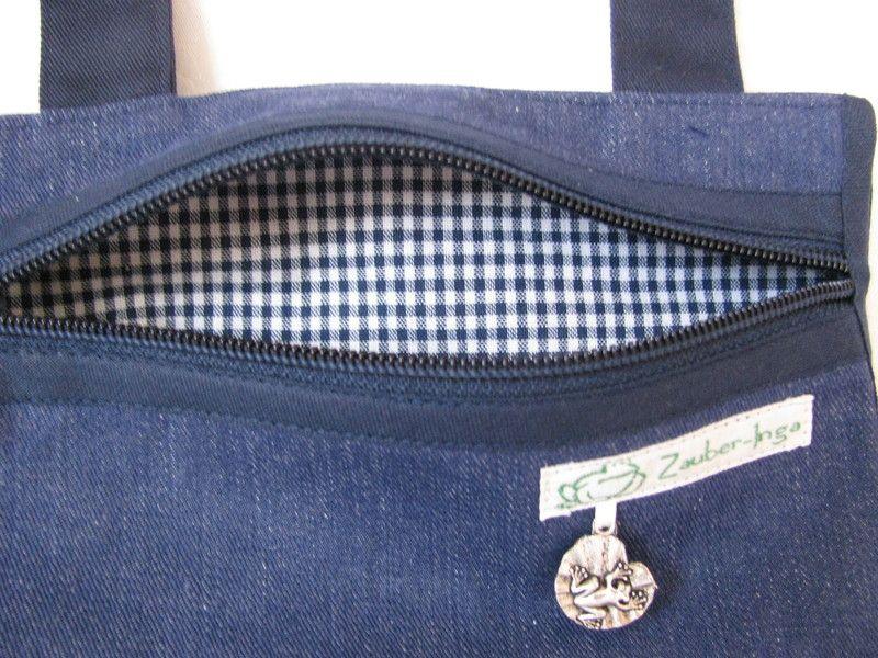 Hüft- & Gürteltaschen - Gürteltasche (jeans-blau) - ein Designerstück von Zauber-Inga bei DaWanda