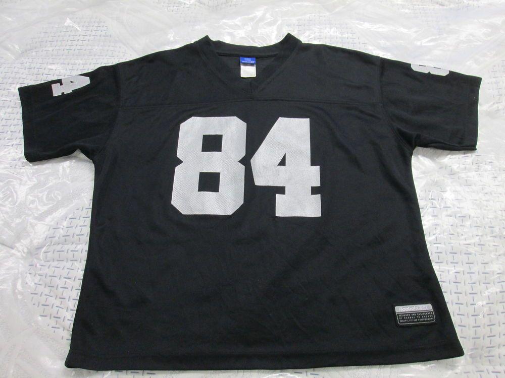 buy online e45c7 1d642 NFL- Oakland Raiders Porter #84 Jersey by Reebok Men(L ...