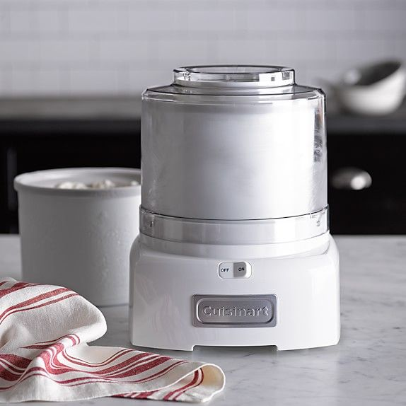 Cuisinart Ice Cream Maker with Extra Freezer Bowl Williams-Sonoma