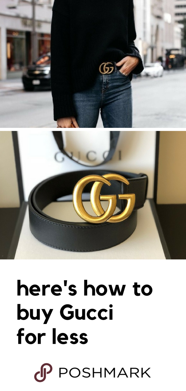 27bff5f17 Complete the look with a Gucci belt for a cheaper price on Poshmark.  Download the app to shop designer pieces.