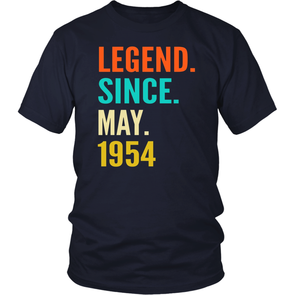 May 1954 64th Birthday Shirt 64 Years Old Gift