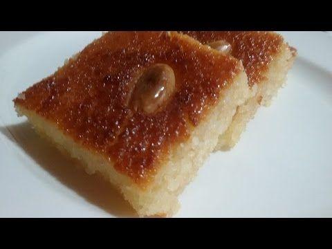البسبوسة بدون بيض طريقة تحضيرها ولا اطيب Desert Recipes Food Cake Desserts