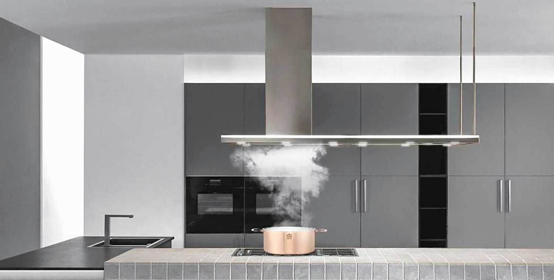 kitchen range hood designer italian
