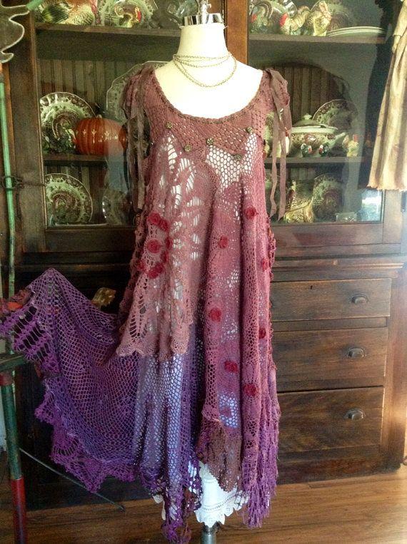 WANTWANTWANT!!! Luv Lucy crochet dress Lucy\'s Victorian Plum Basket ...