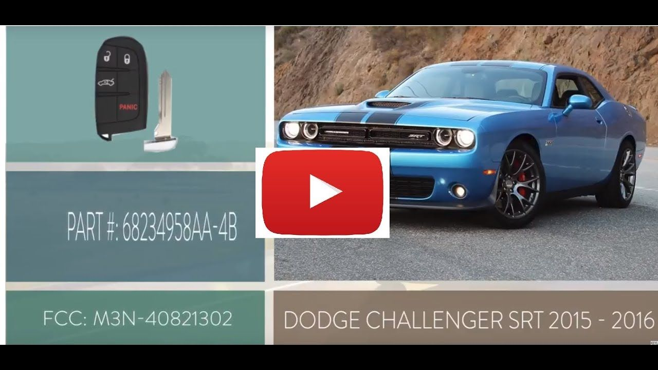 How To Change A Dodge Challenger Key Fob Battery 2015 2016 Part