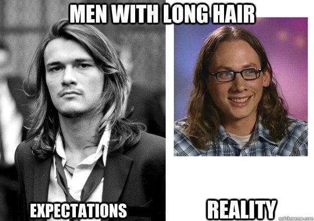 Image Result For Guys With Long Hair Meme Beauty Memes Long Hair Styles Men Hair Meme