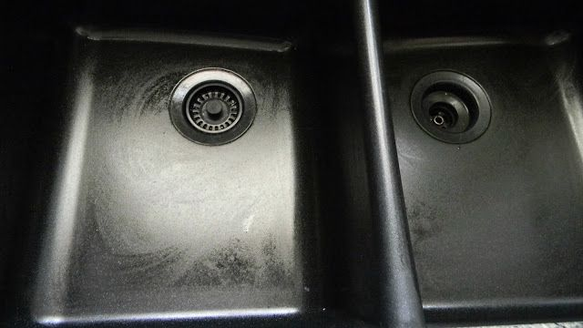 How To Easily Clean A Granite Composite Sink.