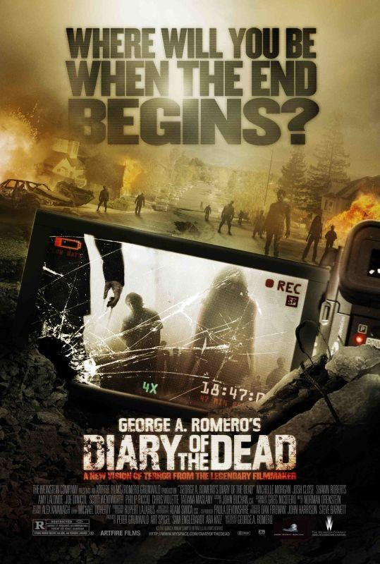 Diary of the Dead (2007) Directed by George A. Romero [ Horror ] ダイアリー オブ ザ デッド