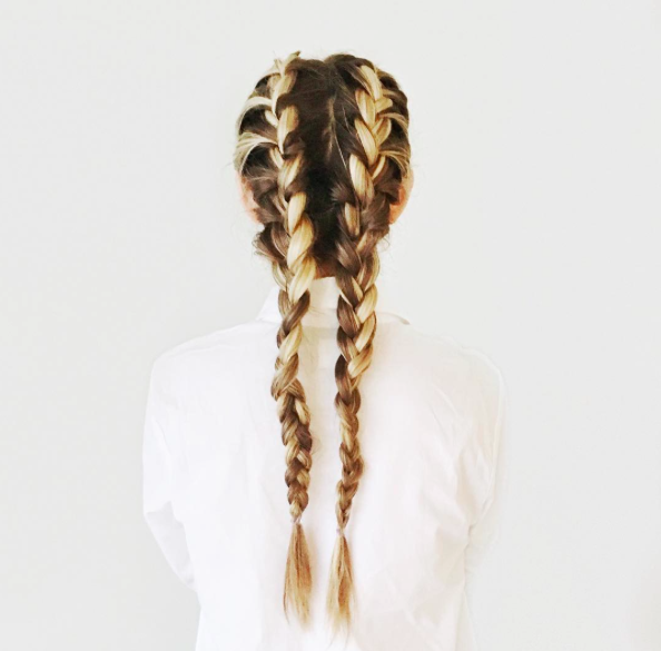 get your hair out of the way for your workday