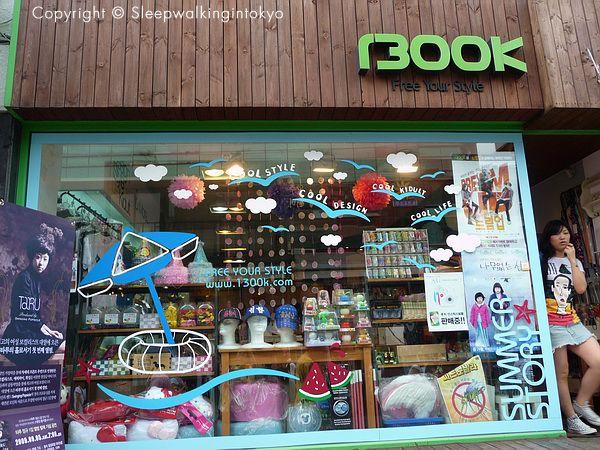 1300k Shop In Hongdae Seoul