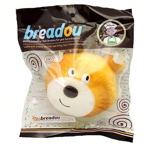 Kawaii Squishies - Breadou Murphy Bear - Bread Bun - Shy